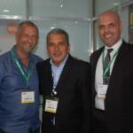 Mário Gomes, do Natal Grand Hotel, Mario Carvalho, da Mar Rio e Roberto Gracioso, do Hotel Century Paulista