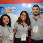 MAria Silvia Gomes, Monica Dantas e Andre Pedroso, da Trend Operadora