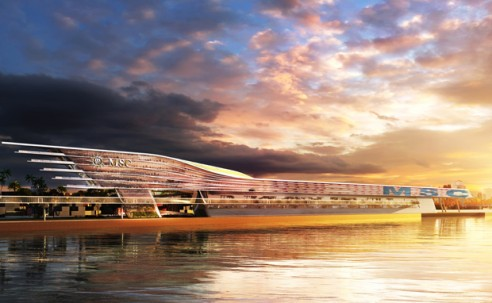 MSC terá terminal de multicruzeiros em Miami a partir de 2022