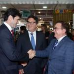 Manoel Linhares, da ABIH com Marcelo Álvaro Antônio e Vinicius Lummertz