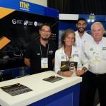 Marcel Ito, da Shift, Mari Masgrau, Juliano Braga e Roy Taylor, do M&E