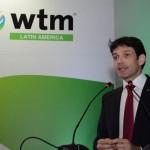 Marcelo Álvaro Antônio encerrou os discuros na abertura da WTM-LA