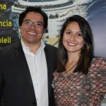Marcelo Ribeiro e Paula Pavão da Rede Tauá