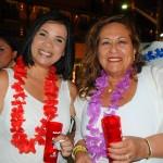 Marcia Silva, da Air Europa, e Roxana Rojas, da Carrussel