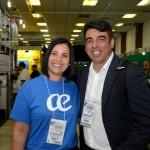 Marcia Silva e Pablo Gabriel, da Air Europa