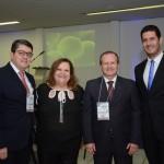 Marcos Lucas, Vera Marcelino, Luciano Gerlin e Rafael Ricci, da Aviesp