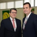 Marcos Lucas, presidente da Aviesp, e Marcelo Oliveira