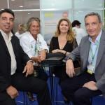 Mari Masgrau, do M&E, Pablo Rodrigo, Marlene de Souza e José Ignacio de Oca, da Divisão Mayorista de Globalia