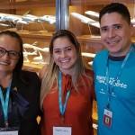 Maria José (MDM Viagen sParaíba), Luciane Trajano (Top Turismo Paraiba) e Daniel Silva (Ancoradouro Paraiba)