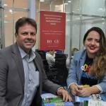 Mario Pilar, da prefeitura do Ipojuca e Brenda Silveira, do Porto de Galinhas Convention & Visitors Bureau