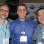 Mauricio Alexandre do SeaWorld, Patrick Yvars do Visit Orlando e Pedro Moron Morad do Mundo Color Personnalité