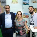 Medhat Ibrahim, da Egypt 7000 Travel, Carolina Mokshin e Alexis Watanabe, da Unique Travel Collection