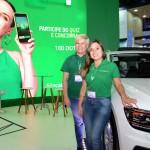 Meire Elen de Paula e Vanessa Madureira, da Localiza Hertz