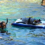 Mergulho de Escafandro é emocionante, uma verdadeira experiência no fundo do mar