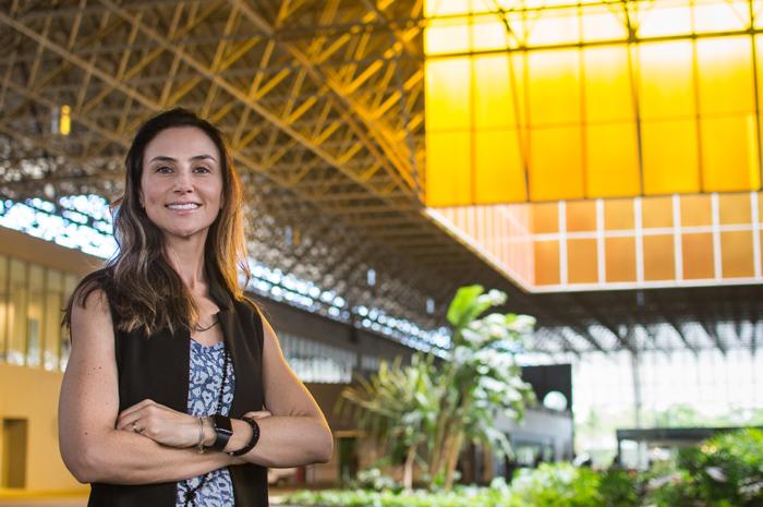 Milena Palumbo, nova diretora geral da operação da GL events no Rio de Janeiro