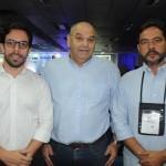 Milton Vasconcelos, presidente da ABIH-AL, Paulo Kugelmas, da Cedetur, e Vitor Alvim, secretário de Turismo de Marechal Deodoro