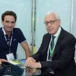 Milton Zuanazzi, da SBTUR Viagens, e Marcio Favila