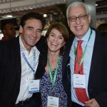 Milton Zuanazzi, da SBTur, Jeanine Pires, da Pires e Associados, Marcio Favilla, da OMT