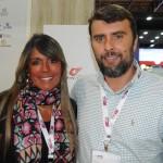 Monica Paixão e Marcos Motta, do Le Canton