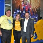 Mustafá Dias, Ana Paula Vilaça e Diego Rocha, da SETUREL