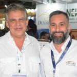 Newton Ferreira, da Newton Travel, e Alexandre Lança, da Affinity