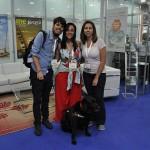 Oliver Mangels, do Jaboticabal Eventos e Produções, Débora Rimoli da SARAWASTI e Mellina Hernandes, do blog 4 Patas pelo Mundo