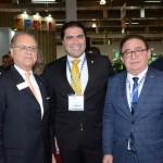Orlando Souza, do Fohb, Nilton Cardoso Júnior, presidente da Comissão de Turismo da Câmara dos Deputados, Manoel Linhares, da ABIH