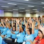 Os mais de 270 agentes participaram de uma descontraída capacitação de Alagoas