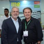 Otávio Neto, do Grupo Radar, e Marcelo Oste