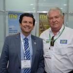 Otavio Leite, secretário de Turismo do Rio de Janeiro, e Roy Taylor, do M&E