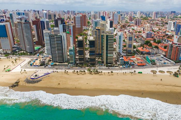 Praia de Iracema, Fortaleza (CE) Foto: Jade Queiroz (MTUR)