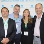 Pablo Bruni, Martin Sueero, Edith Sanguine e Claudio Confalonieri, da Villa La Angostura