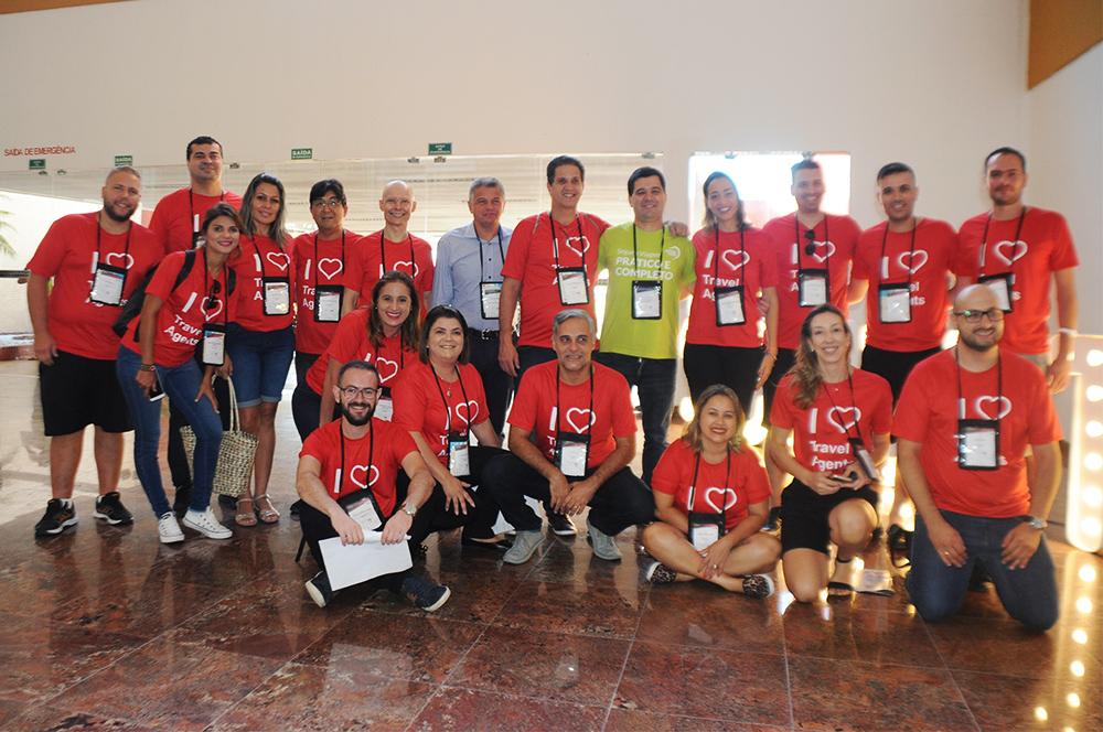 Parte da equipe da Schultz que participa da Convenção 2019