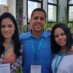 Patrícia Ferreira (Aliança Viagens (Belém), David Edson (Edson TurAracaju) e Paula Diniz (Voo Viagens Itabaiana-Sergipe)