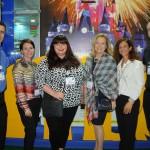 Patrick Yvars, do Visit Orlando, Mara Sartor, do Staysky, Nicole Johnson, da Merlin, Elaine Blazys e Jane Terra, do Visit Orlando, e Chris Follenus, da Balmoral Resort