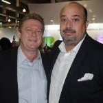 Paulo Michel, da Golden Tulip Brasil, e Michael Nagy, do Fairmont Copacabana