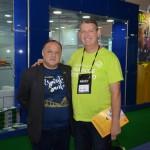 Paulo Renato Fonseca, do Fomatur Turismo, e Aroldo Schultz, da Schultz