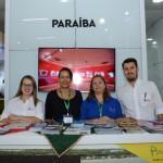 Priscilla Melo, da Rede Nord Hotels, Izilda Penido, do Tambau Hotel, Solange Alves, da PBTUR, e Michel Targino, da Rede Nord de Hotéis