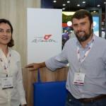 Rafaela Rettore e Marcos Motta, do Le Canton Village