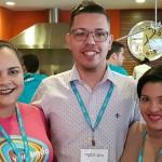 Raul Pablo (RPA Turismo São Luiz-MA), Layde Cardoso (Via mundo São Luiz-MA) e Liliane Garcia (Taguatur Turismo São Luiz –MA)