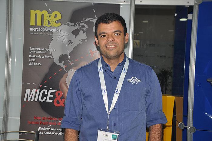 Renato Gonçalves, do Universal Orlando