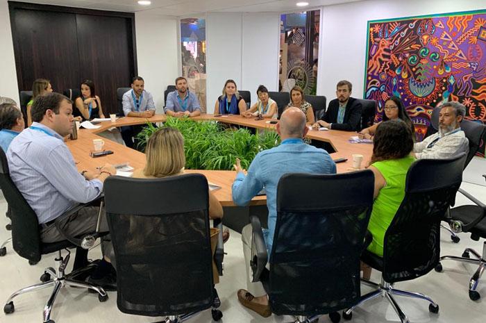 Reunião com o Diretor do Fideicomiso de Riviera Nayarit, Marc Murphy
