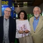 Roberto Bacovis, de Santa Catarina, Jussaraa Haddad, do Consulado Americano, e Leonel Rossi, da Decatur
