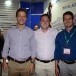 Roberto Roman, Renato Dassan e Guilherme Machado, da Ancoradouro