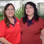 Rocio Kitsutani, e Milagros Ochoa do Perú