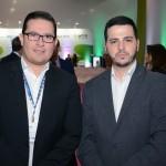 Rodrigo Klusa e Júnior Fagotti, da Setur-SP