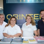 Rogerio Campos, Thais Lazzarini, Vanessa Rocha, e Waldemir Junior, da Orinter