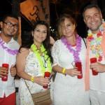Rogerio Silva, da RF Tur, Telma Savioli, da Perfecto Viagens, e Tânia Saviola e Diogo Acioli, da Kairos Turismo