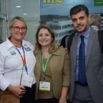 Rosa MAsgrau, do M&E, Maria Katavatis e Nehemias Ramos, da Win Eventos