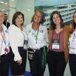 Rosa Masgrau, do M&E, Ana Fernandez, de St. Pete, Mari Masgrau, do M&E, Andrea Gabel, de St